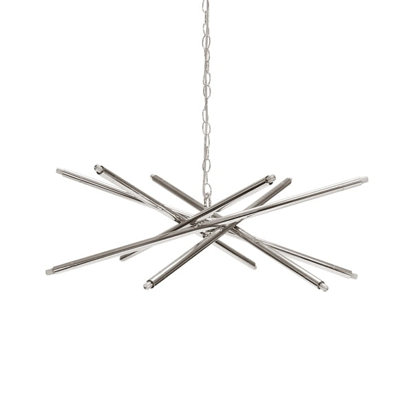 Modern Twelve Light Chandelier