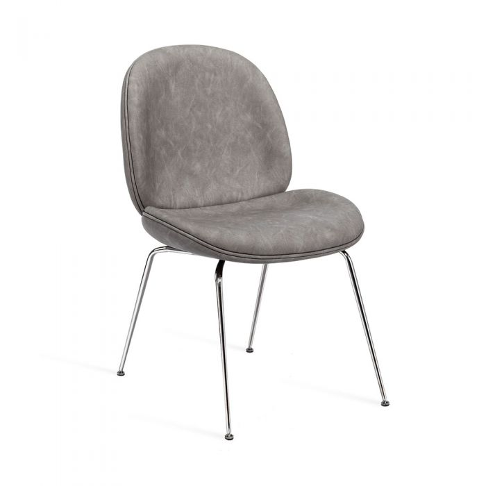 Luna Dining Chair - Distressed Charcoal [set of 2]