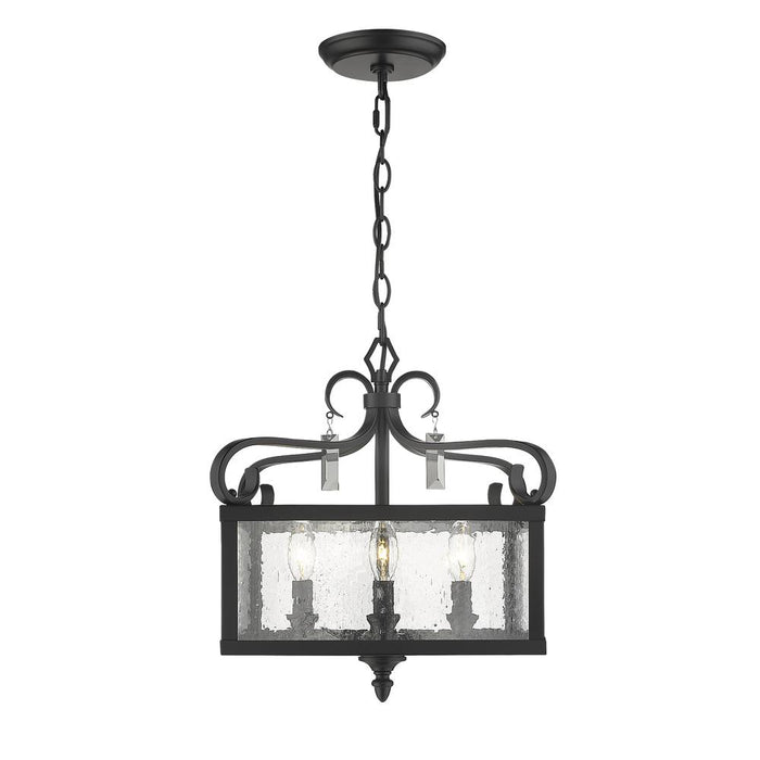 Valencia 4 Light Semi Flush (Convertible)