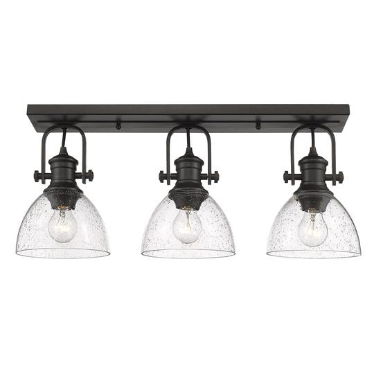 Hines 3 Light Semi-Flush