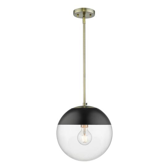 Dixon AB 1 Light Pendant with Rod