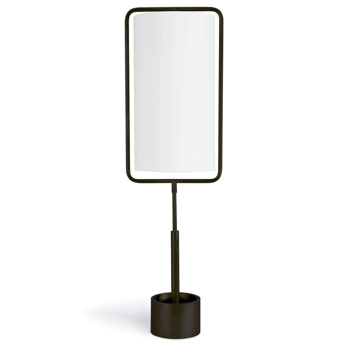 Coastal Living Geo Rectangle Table Lamp (Oil Rubbed Bronze)