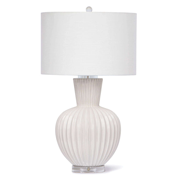 Madrid Ceramic Table Lamp (White)