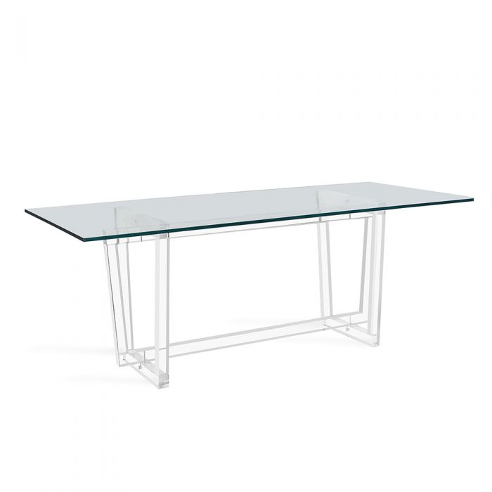 Oris Dining Table - Glass Top