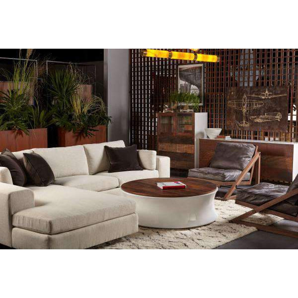 Erving Coffee Table - White