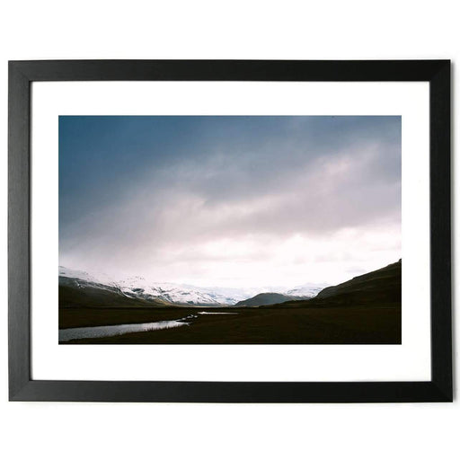 In the Valley, Iceland - Limited Edition Framed Print