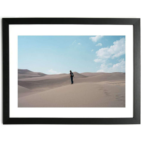 Man in the Desert - Limited Edition Framed Print
