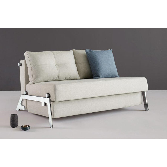 Cubed 02 deluxe sofa CHROME (QUEEN)