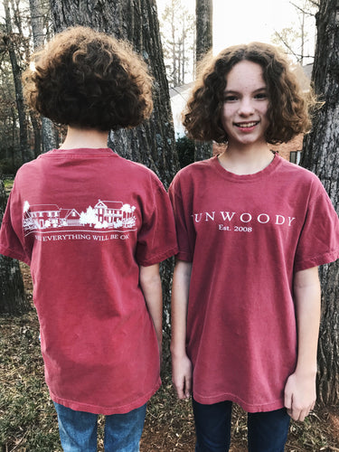 Red Short Sleeve T Shirt (adult sizes)
