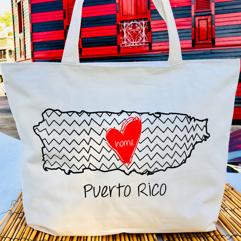 Home is Puerto Rico Bag