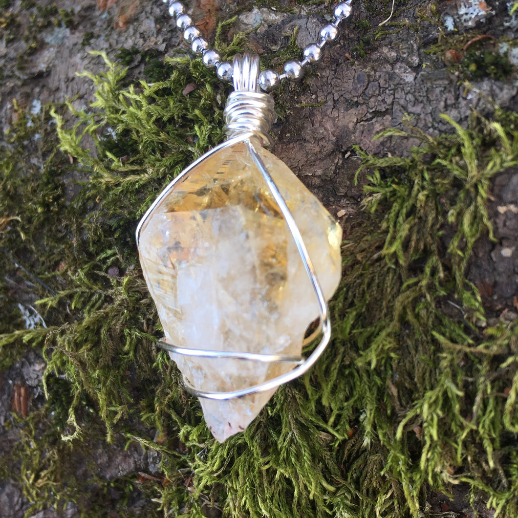 Citrine Point for Abundance