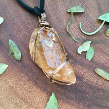 Solar Plexus Honey Calcite