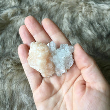 Super Sparkly Stilbite Apophyllite Duo