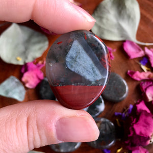 Sacred Bloodstone Medallion