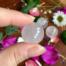 Nurturing Rose Quartz Mini Spheres