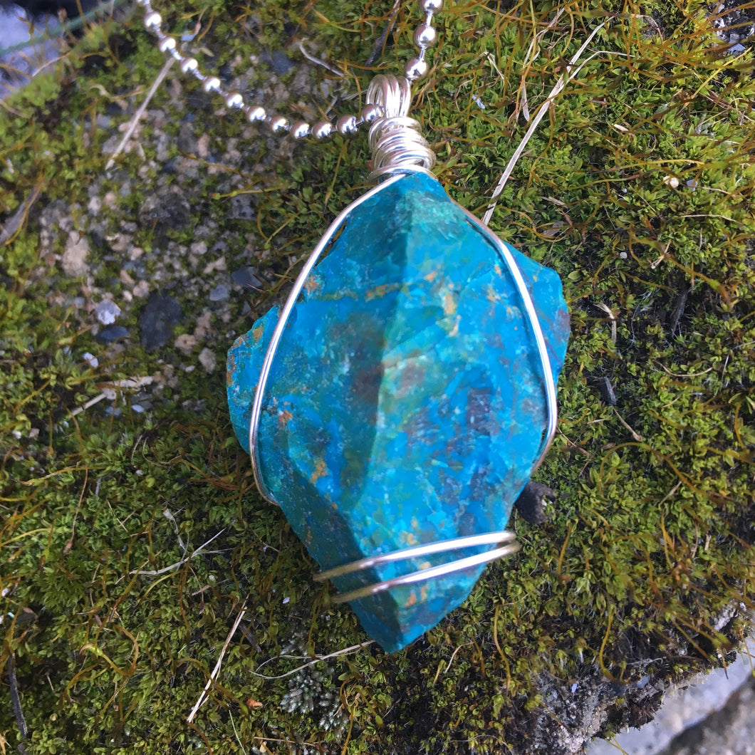 Chrysocolla for Self-Expression