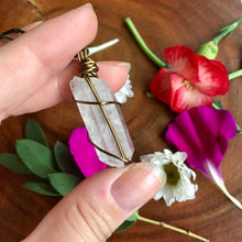 Manifest + Heal Quartz Point