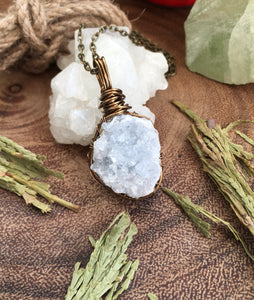 peaceful dawn celestite