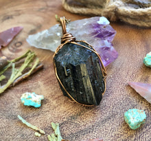 deep black tourmaline