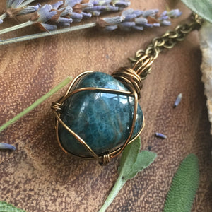 Dreamy Blue Apatite