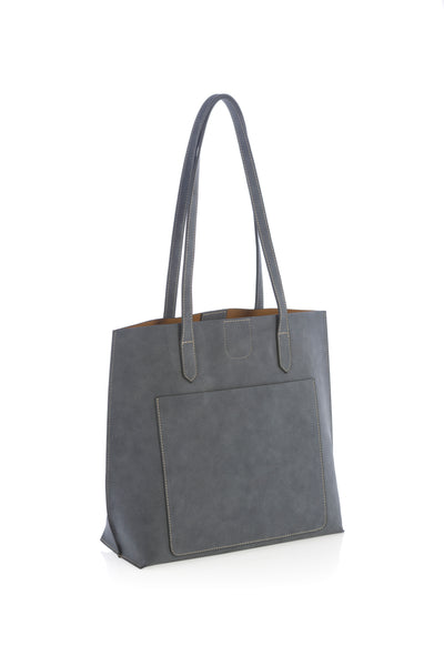 Blair Day Tote, Steel