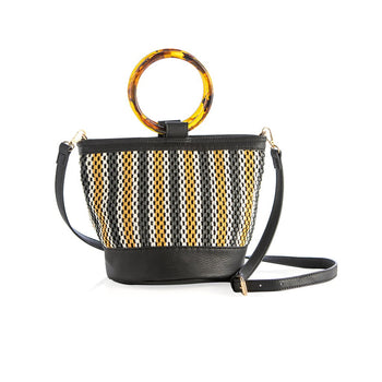 JULIETA SHOULDER BAG,BLACK