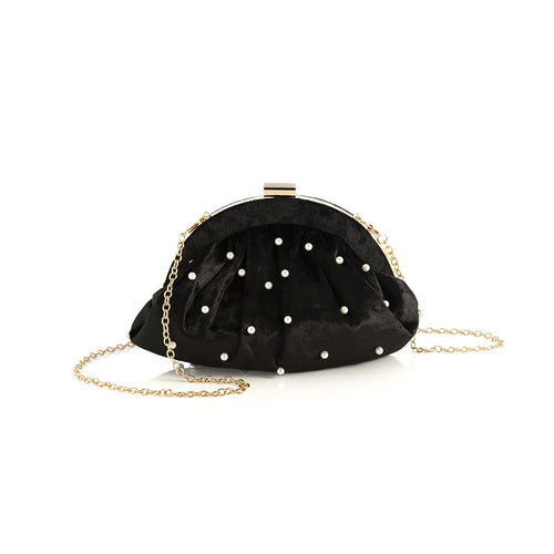 KATE FRAME CLUTCH,BLACK, Kate Frame Clutch,Black