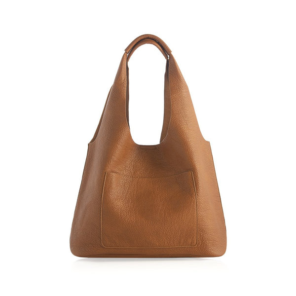 Arden Day Tote,Saddle
