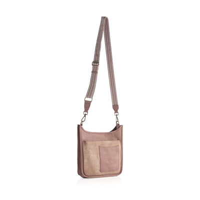 ARDEN GUITAR STRAP CROSS-BODY,BLUSH