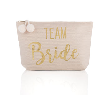 Mia Team Bride Zip Pouch, Mia Team Bride Zip Pouch, Blush