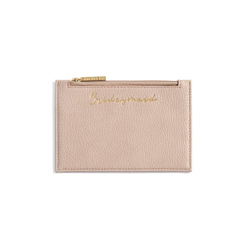 BRIDESMAID CARD CASE,BLUSH