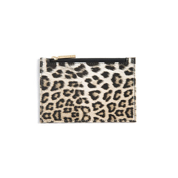 LEOPARD CARD CASE,MULTI , Leopard Card Case,Multi