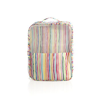 ORLA TRAVEL SHOE BAG,STRIPE