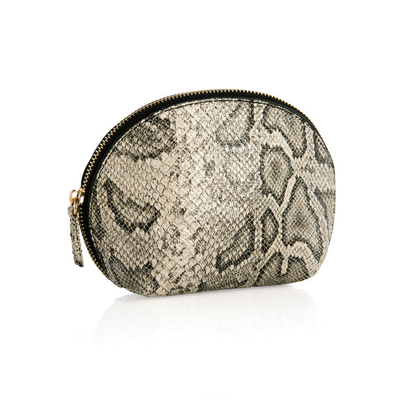 Cameron Cosmetic Zip Pouch,Grey