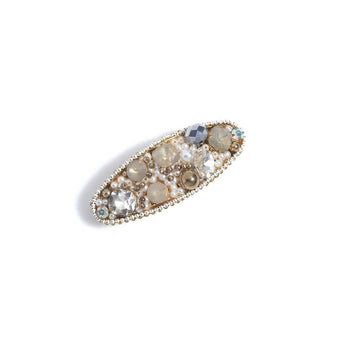 MULTI BEAD AND RHINESTONE HAIR CLIP,MULTI