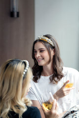 Embellished Headband,Gold