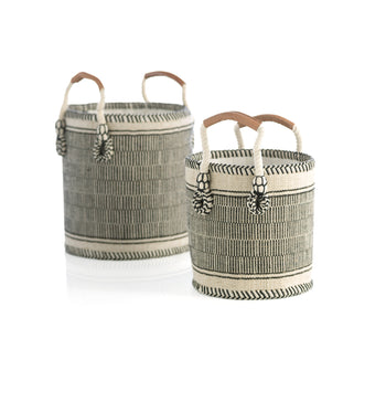 Assorted Set Of 2 Sierra Planter Baskets