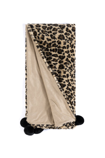 Jill Throw, Leopard, Jill Throw, Leopard
