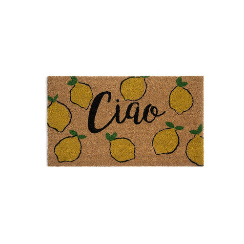 CIAO DOORMAT,NATURAL, Ciao Doormat,Natural