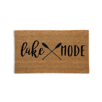 LAKE MODE DOORMAT,NATURAL