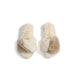 STOWE SLIPPERS S/M,IVORY