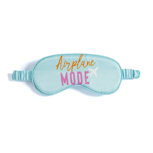 AIRPLANE MODE EYE MASK,TURQUOISE