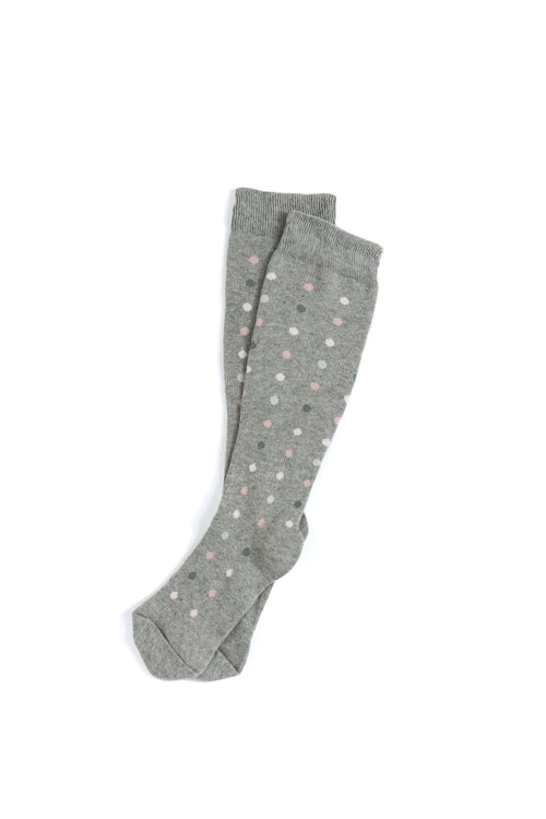 Dots Flight Compression Socks, Grey