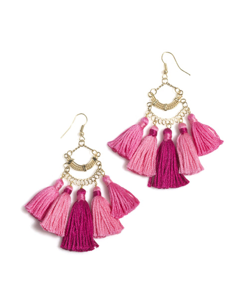 Sonya Tassel Earrings