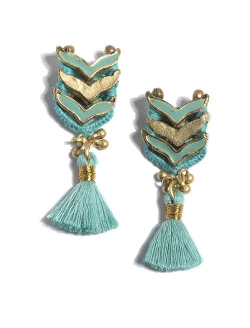 Belen Earrings, Belen Earrings, Turquoise