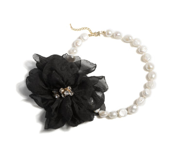 Bloom Necklace, Bloom Necklace, Black