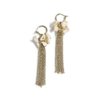 VISAYA DROP EARRINGS,GOLD