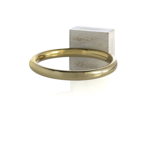 WALLACE WALL MOUNTABLE SCARF DISPLAY RING,GOLD