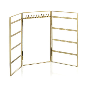 WALLACE JEWELRY RACK,GOLD