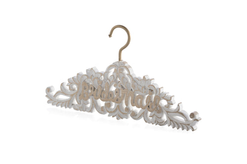 Bridesmaid Hanger, White